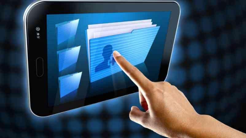 Control de visitas con bitacora digital